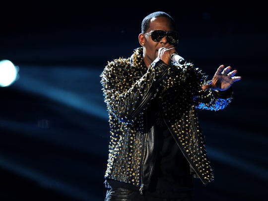 R. Kelly at the 2013 BET Awards in Los Angeles.