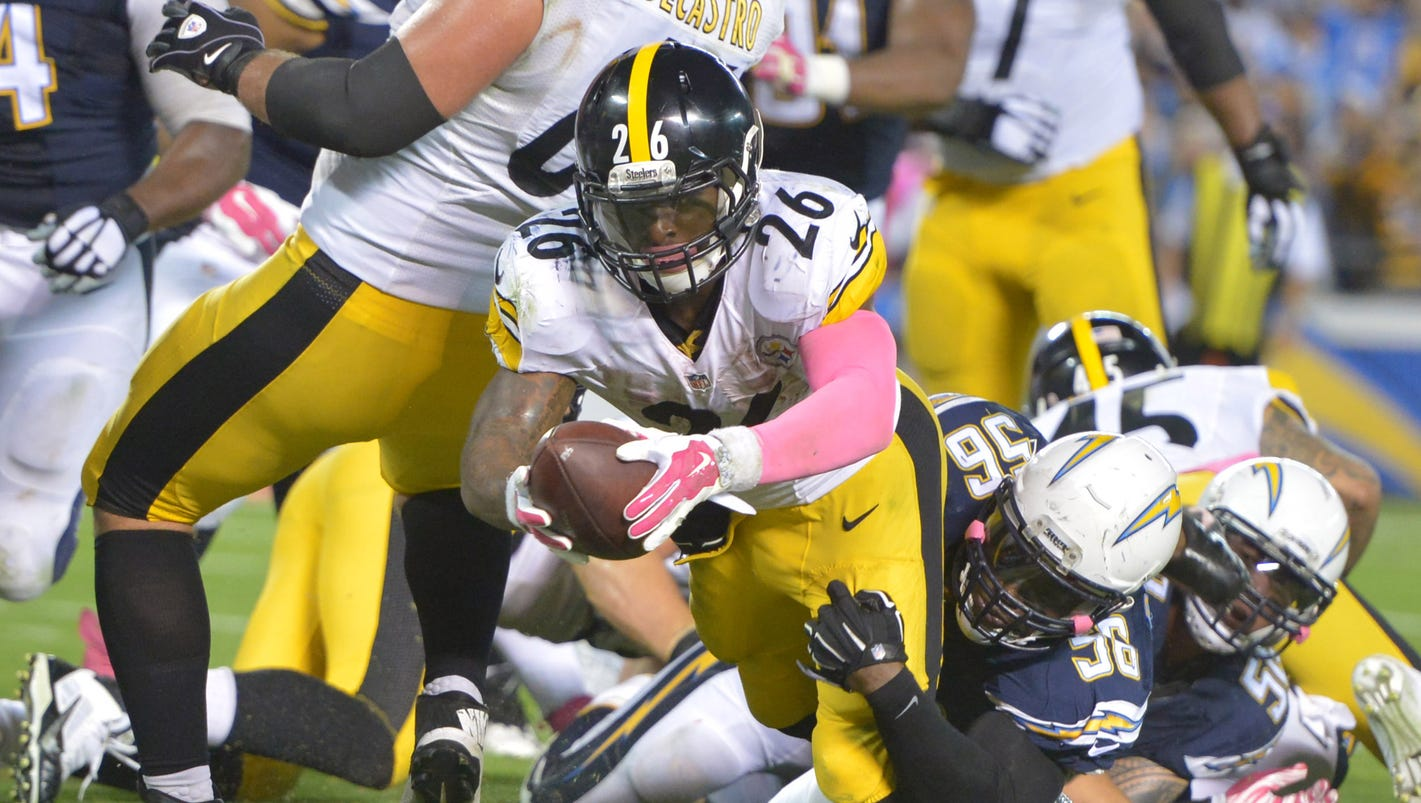 Le Veon Bell S Last Second Td Lets Steelers Squeak By Chargers