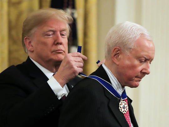 Donald Trump,Orrin Hatch