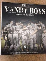 Binder cover of Vanderbilt player notes.