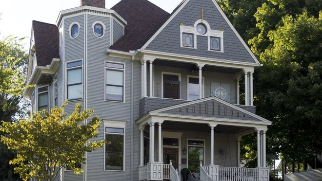 Exterior of the Schimmel Sorensen home on Luttrell Street in 4th & Gill Neighborhood.