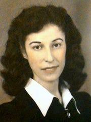Rachel Vickio in her youth.