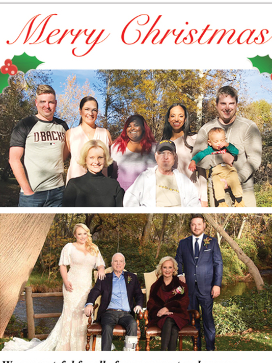 McCain Christmas card