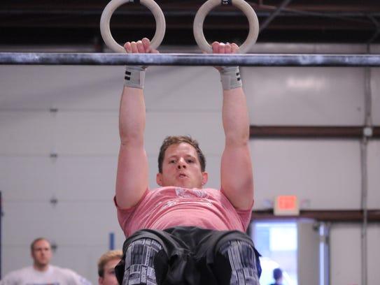"David ""Gringo"" Macia takes part in Iron Strong CrossFit"