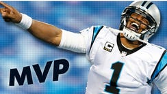 Cam Newton was named the NFL MVP for the 2015 season.