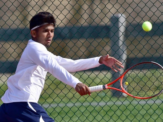 Jay Padalia (pictured) plays Lower Dauphin's Josh Carl