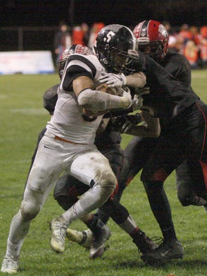 Brad Mendoza rushed for 1,159 yards and 22 touchdowns for Gibsonburg last season.