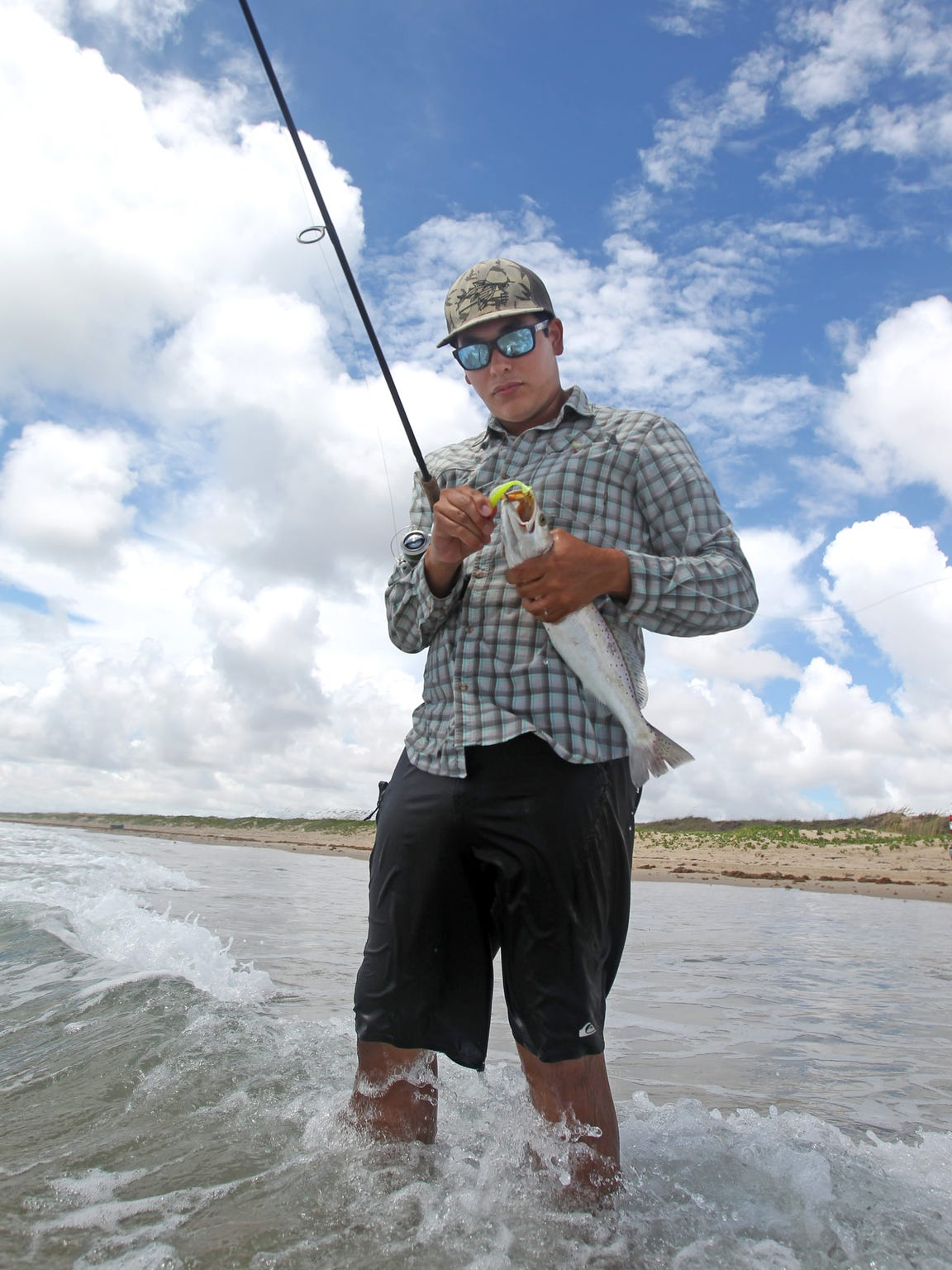 A couple of Coastal Bend guides offer surf-fishing trips along Padre Island National Seashore. They provide all equipment, which include a vehicle with four-wheel drive.