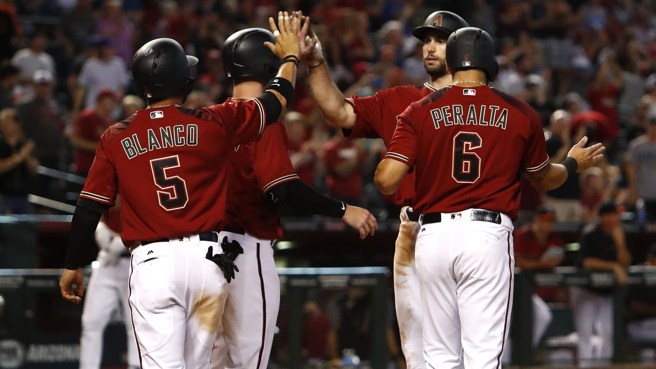 Paul Goldschmidt on grand slam, offensive outburst