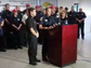 Fire officials give a briefing on the death of Cal
