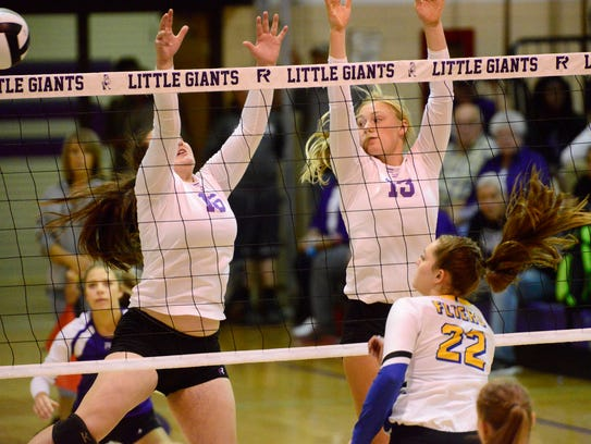Fremont Ross juniors Olivia DeRodes and Anne Marie Moses were first-team all-District 6 in Division I.