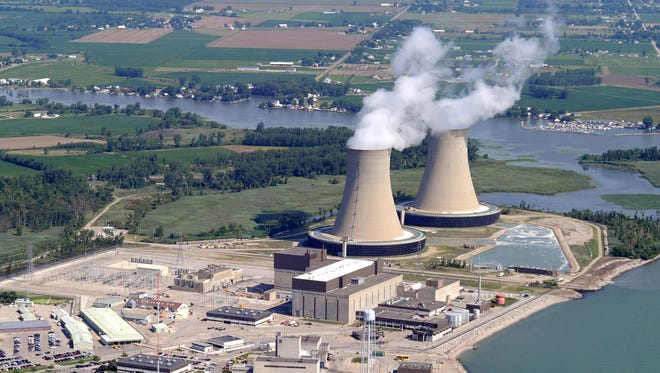 The Fermi 2 nuclear power plant in Newport, Mich., is on the western shore of Lake Erie in Monroe County.