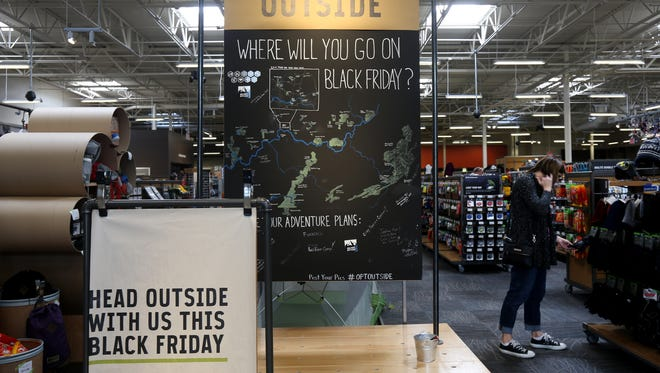 REI is closing all of its stores on Black Friday, including the Cincinnati store. They're encouraging their employees as well as their customers, to spend time with family outdoors. At least a dozen employees are planning on going to Cincinnati Nature Center, which is waiving their entrance cost for the REI employees that day.