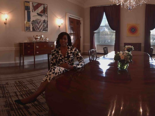 The First Lady lets you look at a White House dining