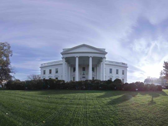 The White House on tour virtually.