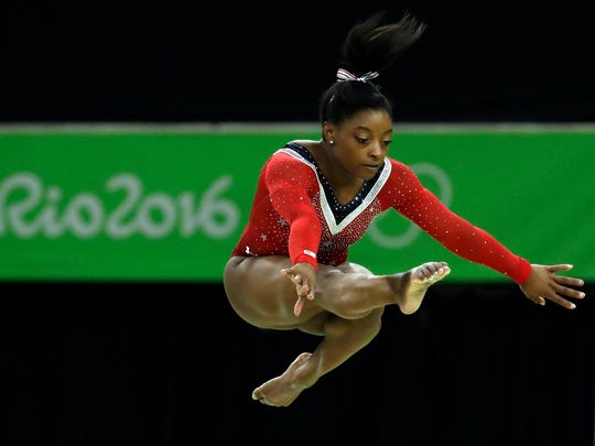 Simone Biles will perform on Oct. 15 at Bankers Life Fieldhouse.