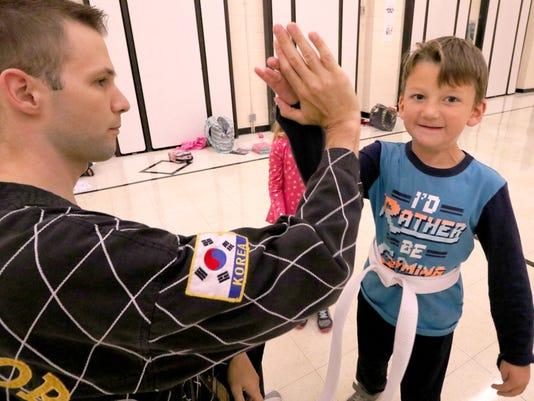 Muskego Elementary Anti Bullying Martial Arts program