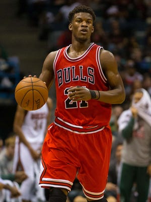 Bulls guard Jimmy Butler has had a breakout season.