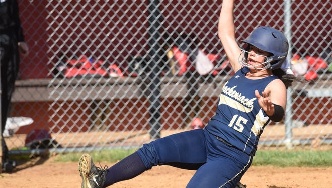 Allegra Addeo has helped develop the confidence of her younger Hackensack teammates.