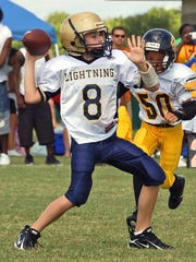 Brandon  Ziarno is shown during his days as a Suntree/Viera Mighty Mite.