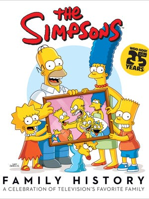 'The Simpsons Family History' goes on sale in September.