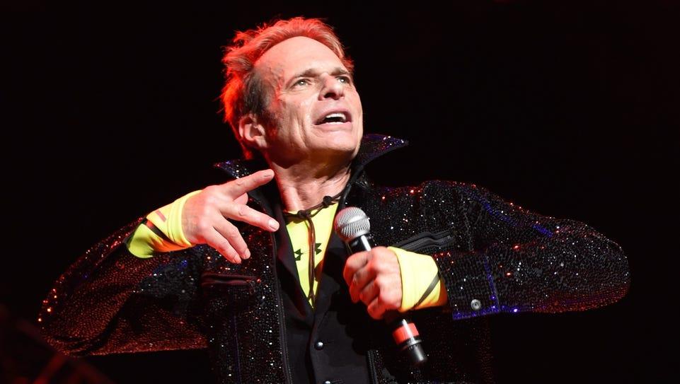 David Lee Roth performs Wednesday with Van Halen at