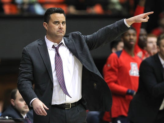 NCAA Basketball: Arizona at Oregon State