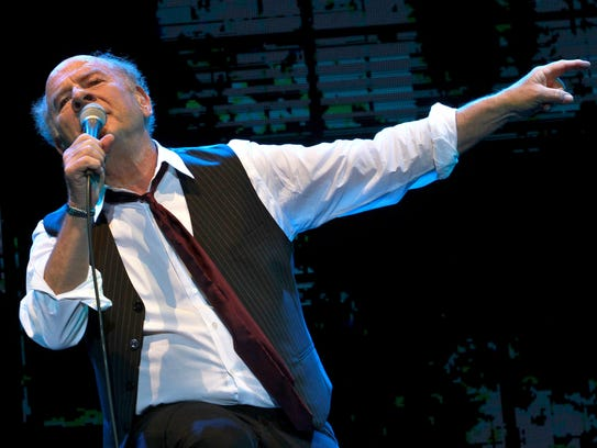 Grammy Award-winning American singer Art Garfunkel