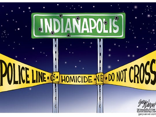 During an 8-hour period, 7 people were slain in Indianapolis. In less than two months into the new year, 28 homicides have been recorded in Marion County.