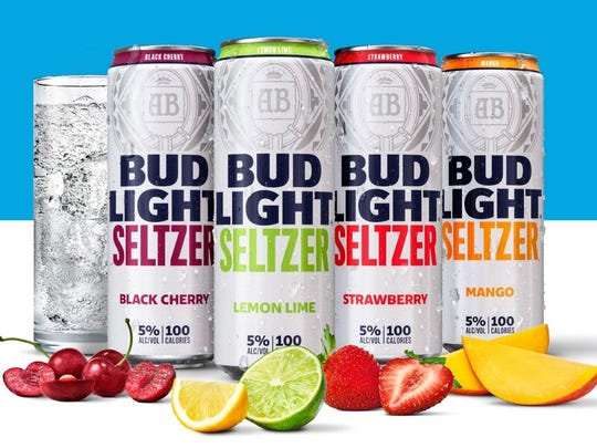 Bud Light Seltzers are arriving in stores this week.