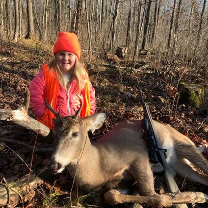 Wisconsin DNR posted this photo on Twitter of a 6-year-old