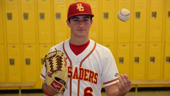 Chris Gerard, of Bergen Catholic, is North Jersey Baseball Pitcher of the Year.