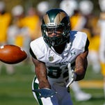 Receiver Rashard Higgins, a junior from Dallas, was the only CSU football player to earn first-team honors in All-Mountain West voting, announced Tuesday.