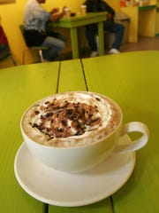 Quimbaya's hot chocolate at Quimbaya Columbian Coffee Cafe on Main Street in Ossining. (File photo / The Journal News)