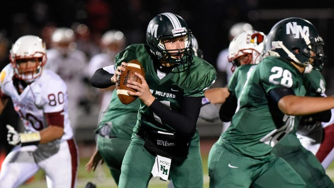 Senior quarterback Ryan Picinic is back this season to lead New Milford's offense. The Knights were No. 14 in NorthJersey.com's pre-season top 20.