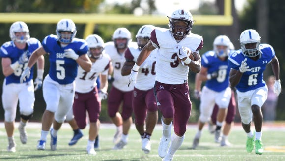 Don Bosco running back Jalen Berger has rushed for 844 yards so far this season.