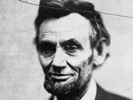 This Sunday, Feb. 5, 1865 photo made available by the Library of Congress shows President Abraham Lincoln in Washington. This image is last photo in the president's last photo session during his life. (AP Photo/Library of Congress, Alexander Gardner)