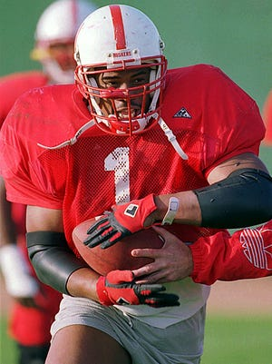 Lawrence Phillips starred at Nebraska under coach Tom Osbourne from 1993-95.