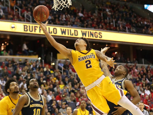 NCAA Basketball: Big Ten Conference Tournament-Michigan vs Minnesota