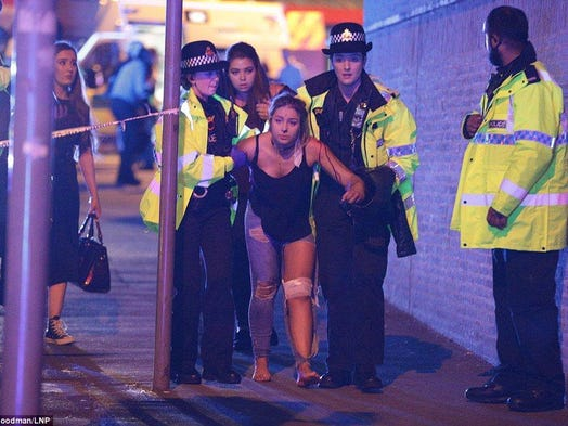 Police said the explosion is being judged a terrorist attack unless new inf…