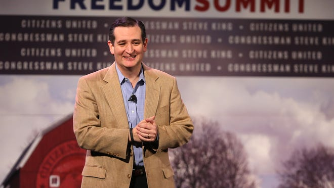 Republican presidential candidate Ted Cruz has visited Iowa several times in recent months, including for the U.S. Rep. Steve King-sponsored Iowa Freedom Summit in January.