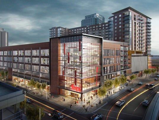 A True Urban City Downtown Phoenix Fry S Grocery Store Breaks Ground