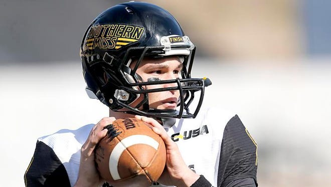USM quarterback Nick Mullens tied a school record with five touchdown passes against Rice on Saturday.