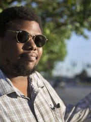 Cam Hardy, 28, is the president and co-founder of the Better Bus Coalition and also part of the Mt. Airy Town Council.