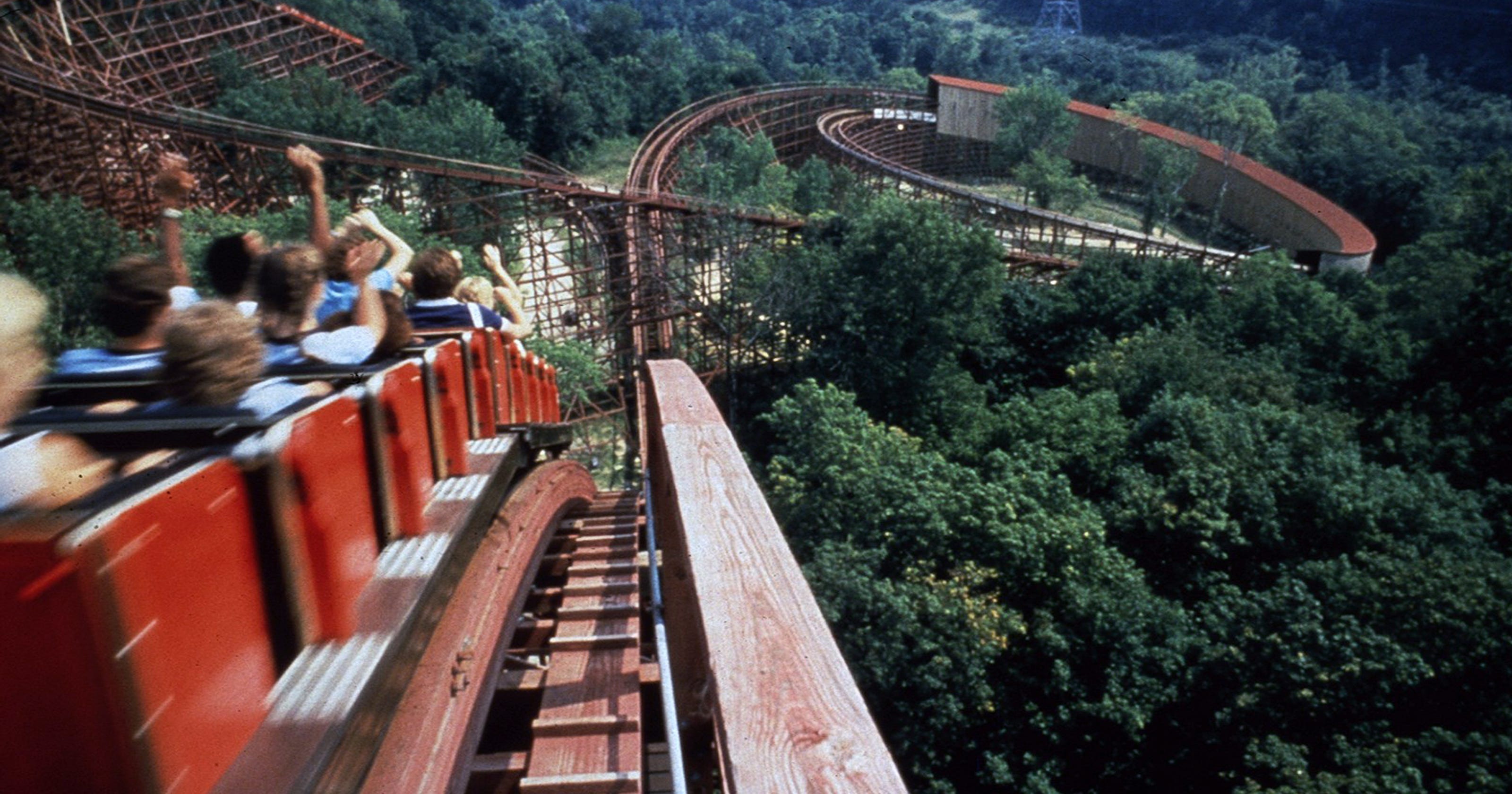 The Beast at Kings Island is Ohio's best roller coaster