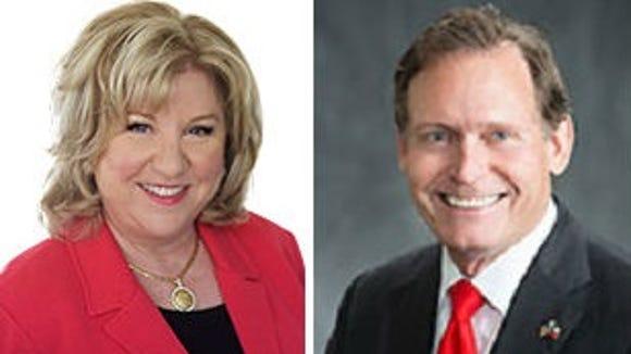 State Sen. Jane Nelson and state Rep. John Zerwas