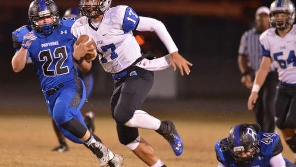 One of the nation's elite 2018 quarterback prospects,
