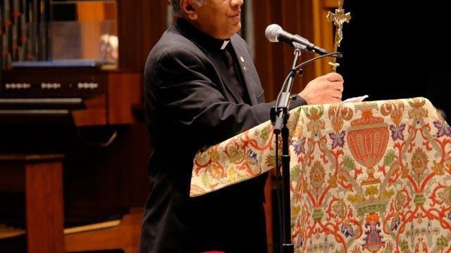 Father Sebastian Kavumkal.