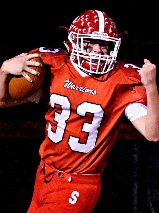 Dover at Susquehannock in week 10 football