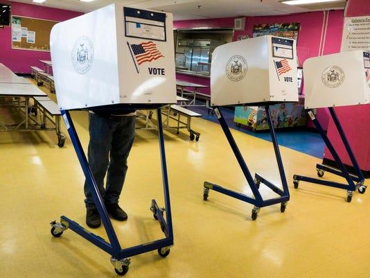 EPA EPASELECT USA NEW YORK PRIMARY VOTING POL ELECTIONS USA NY